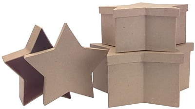 DCC Paper Mache Large Star Box 301727