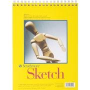 "Strathmore® Spiral Sketch Book, 9"" x 12"""