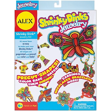 Alex® Toys Jewelry Shrinky Dinks Kit