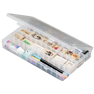 ArtBin® Solutions™ Large 4 Compartment Box, Translucent