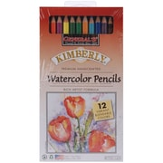 General's Kimberly Watercolor Pencil, 12/Pack, Assorted Colors
