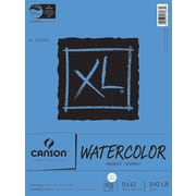 "Canson® 9"" x 12"" Paper Pad, Canson XL Watercolor"