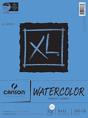 Canson® XL Watercolor 9