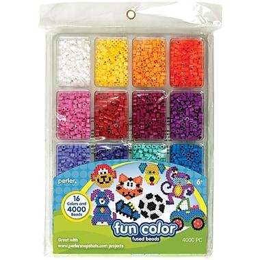 Perler® Fun Colors Bead Tray, 4000 Pieces