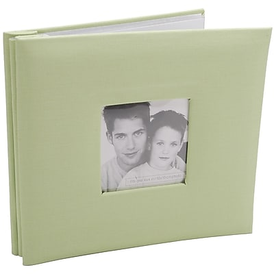 MBI Fashion Fabric Cover Postbound Album With Window, 8