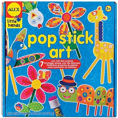 Alex® Toys Pop Stick Art Kit