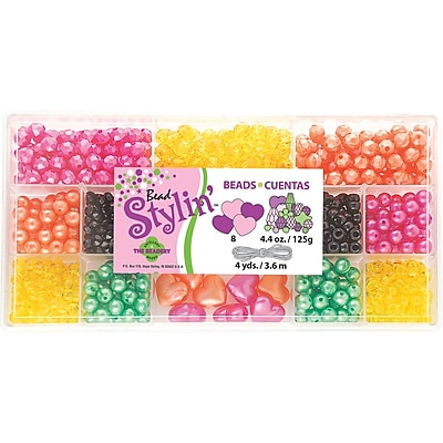 Beadery® Bead Stylin' Bead Box Kit, Citrus, 4.4Oz./Pack