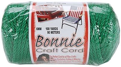 Pepperell 100 yds. Bonnie Macrame Craft Cord, Kelly