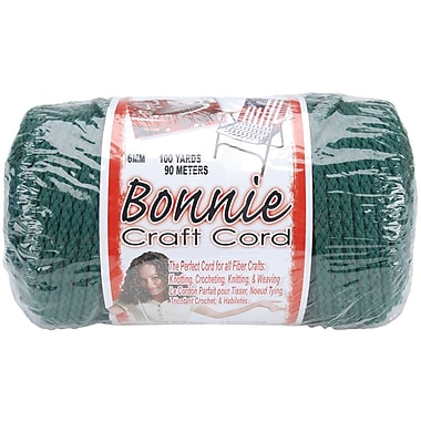 Pepperell BB6-100-030 Forest Bonnie Macrame Craft Cord, 100 yd.