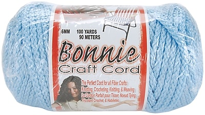 Pepperell 100 yds. Bonnie Macrame Craft Cord, Sky Blue