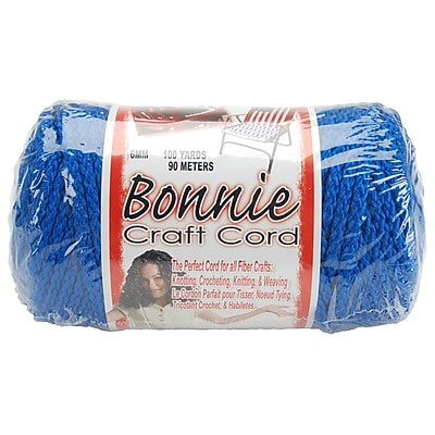 Pepperell 100 yds. Bonnie Macrame Craft Cord, Royal Blue