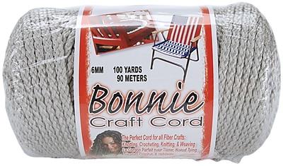 Pepperell 100 yds. Bonnie Macrame Craft Cord, Shadow Gray
