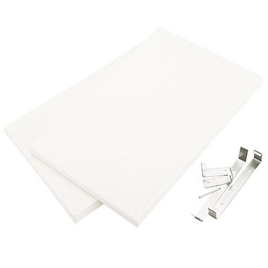 Canvas Concepts CC70213 White Fancy Back Decor Canvas, 12