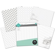 "Heidi Swapp 12"" x 12"" Paper Pack, Color Magic Resist, 12/Pack"