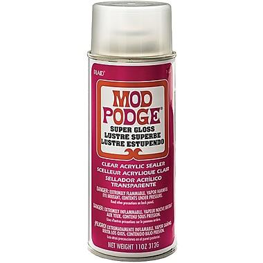 Plaid:Craft CS1450 Red Mod Podge Acrylic Sealer Super Gloss, 11 oz.