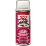 Plaid:Craft CS1450 Red Mod Podge Acrylic Sealer Super Gloss, 11 oz.