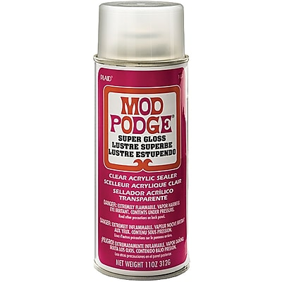 Plaid:Craft® Mod Podge® Super High Shine Spray, 11 oz.