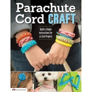 "Design Originals DO-3495 Multicolor Parachute Cord Craft Book, 11"" x 8.5"" x 0.18"""