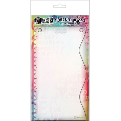 Ranger DYA36999 Dylusions Clear Journal Block, 9