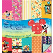 "EK Success™ 12"" x 12"" Double-Sided Specialty Paper Pad, Disney Mickey Family"