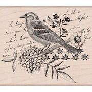 "Hero Arts® 4"" x 4"" Mounted Rubber Stamp, Bird Collage"