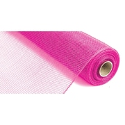 "Canvas Corp™ 21"" x 10 yds. Deco Mesh Ribbon, Hot Pink"