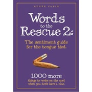 "Orange Sky ""Words To The Rescue 2"" Book"