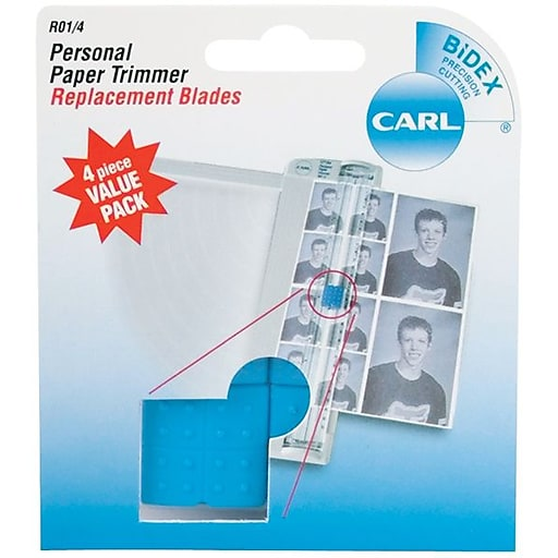 Carl brands personal paper trimmer replacement blades straight httpsstaples 3ps7is malvernweather Gallery