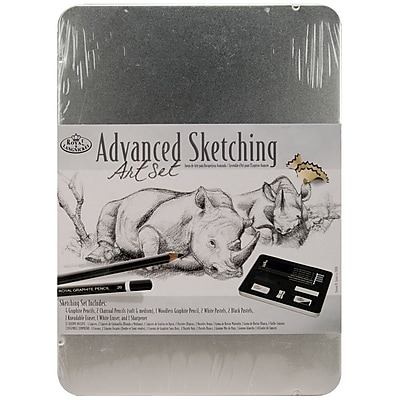 Royal Brush® Advanced Sketching Art Set With Medium Tin
