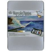 Royal Brush® Watercolor Painting Art Set With Medium Tin