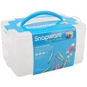 Snapware® Snap 'n Stack 2 Layers Medium Rectangle Craft Organizer
