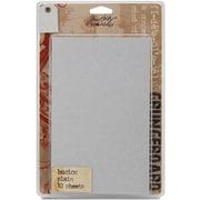 """Advantus™ Tim Holtz® Idea-Ology Paper Grungeboard Basics, 7"""" x 5"""", 10/Pack"""