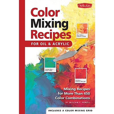 Quayside Publishing WFC-47868 Color Mixing Recipes for Oil and Acrylic Book (WFC-47868)
