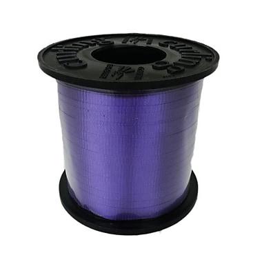 Ruban à friser 3/16 po, violet foncé, rouleau de 500 verges