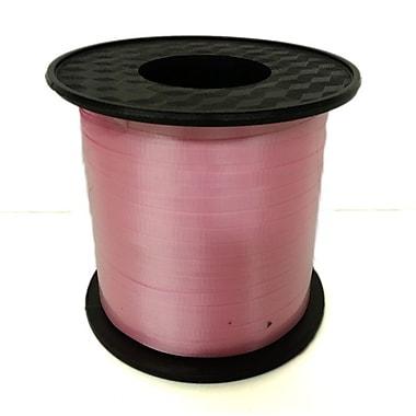 Ruban à friser 3/16 po, rose vif, rouleau de 500 verges