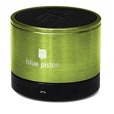 Logiix Blue Piston Wireless Bluetooth Speaker, Lime, LGX-10611
