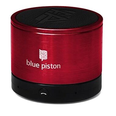 Logiix - Haut-parleur sans fil Bluetooth Blue Piston, rouge, LGX-10614
