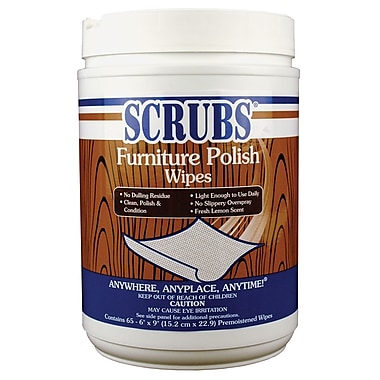 SCRUBS® Furniture Polish Wipes