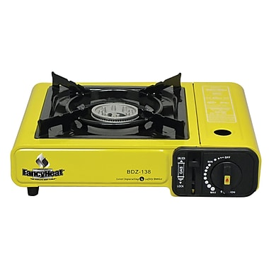 Fancy Heat® Piezoelectric Ignition Portable Butane Stove