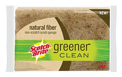 3M™ Scotch-Brite™ Greener Clean Biodegradable Sponge
