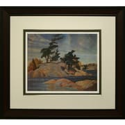 Island Georgian Bay Framed by Franklin Carmichael