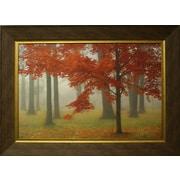 Brume d'automne 1, toile encadrée, par Donna Geissler