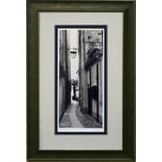 La Strada Porto Fino, photo encadrée, par Alan Blaustein