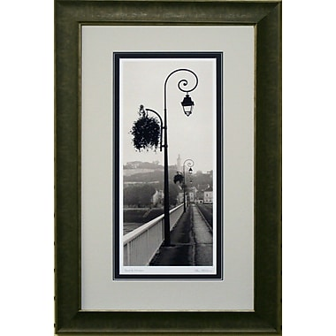 Pont De Chinon Vetico Framed by Alan Blaustein