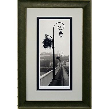 Pont de Chinon Vetico, photo encadrée, par Alan Blaustein