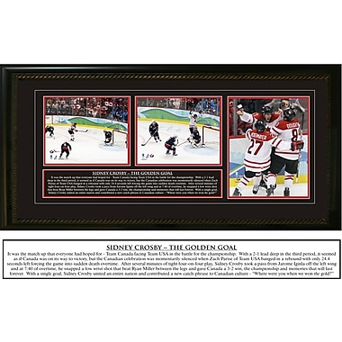 Sidney Crosby Framed Team Canada Olympic 2010 The Golden Goal