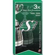 Toile des Roughriders de Saskatchewan, champions de la Coupe Grey