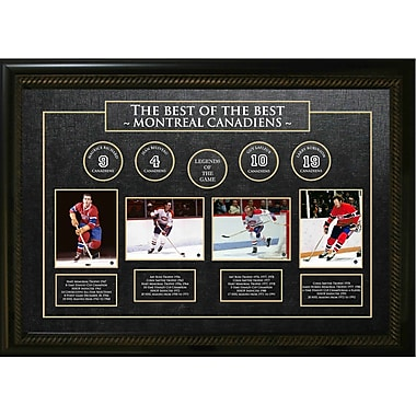 « Best of the Best » des Canadiens de Montréal; Maurice Richard, Jean Béliveau, Guy Lafleur et Larry Robinson