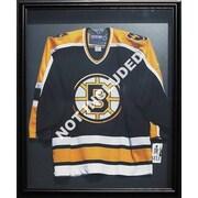 Armoire pour chandail de hockey, cadre noir