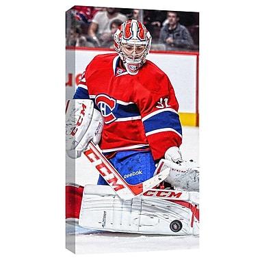 Carey Price, toile des Canadiens de Montréal, « L'arrêt »